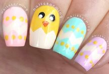 Easter nails - na Wielkanoc