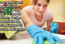 Produit de nettoyage _ maison