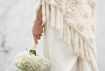 Winter Brautmantel