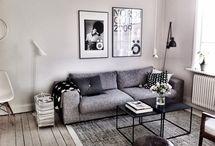 INTERIOR /  Living Room /Grey