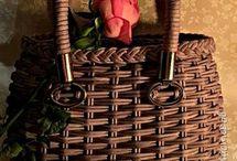Плетёная сумочка