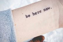 Inspiring quote tattoos