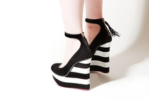 Black and white stripe fashion trends
