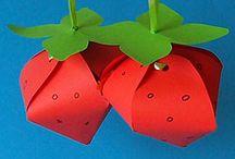 Erdbeere / Alles rund um die Erdbeere - Basteln, Kochen, Backen, Trinken