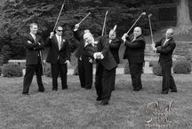 Grooms and how to take their photos at a wedding. / Grooms and groomsmen are often overlooked at weddings.