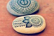 modele de desenat pe pietre