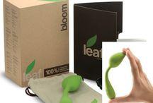 Leaf sexlegetøj - Powerbullets / Leaf med powerbullet teknologi er vibratorer udformet som det vi ser i naturen - blade, blomster - unikke og i bedste kvalitet