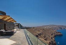 Aiolos Villa Santorini / Welcome to Aiolos Villa  at Akrotiri on Santorini island.  Aiolos Villa is precious like a fine artwork, is a brand new accommodation proposal in Santorini which combines the unparalleled beauty of the island with all modern and luxurious amenities and facilities.
