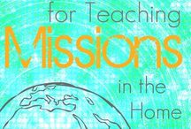 Missions love / Ideas & resources to help you & your family live out the Great Commission right where you are!