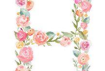 Çiçekli desenler