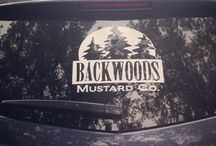 #BackwoodsRoadCrew / These are photos of some of our biggest fans that are helping spread the word for Backwoods Mustard Company by showing their support through our vehicle window decals. We can't thank them enough! If you would like a Backwoods Mustard window decal, please contact us.