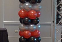 Balloon Decorations for Parties and Events / Various ways balloons can add fun and excitement to a party or event.