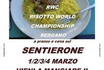 Risotto A Pranzo e Cena sul Sentierone 1-2-3-4 marzo Bergamo