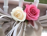 Chair flowers / by Sophisticated Floral Designs