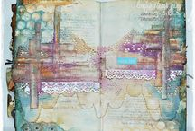 Art Journal Inspiration / art journalling by others that inspires me