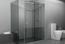 Shower cabin Shape-6 / Shower cabin Shape-6, special constaruction. Security Glass 8mm - Metalic parts from Stainless Steel - Dimensions 150x90cm - Heiht 190cm