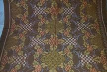 tenun ikat motif bunga