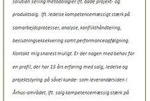 Præsentation af jobsøgere/kandidater / Mulighed for at præsentere kandidater mv.