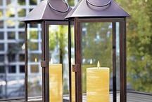 Lanterns and candleholders / Lucerny a svícny