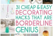 Budget Home Decors & Ideas / by Clever Dude