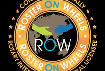"""Roster on wheels / ROW is revolutionizing the functioning of Rotary and is on its way to Connecting Rotarians Globally via a single mobile platform."""""""