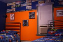 Boys Bedroom / Ideas and inspiration for decorating a boy's bedroom.