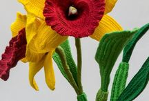 Crochet Flowers / crochet flowers, floral, flowers, knitting
