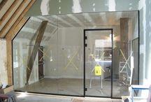 Glazen binnenwanden / Laat je inspireren door de glazen binnenwanden van Glazz.nl