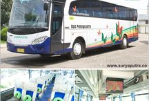 Bus Bus Bus 2015 / Bus Pariwisata Indonesia dengan Karoseri dan Interior Terbaik, Silahkan Booking via Website untuk Harga Terbaik : www.suryaputra.co