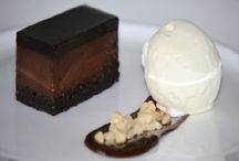 We love making Ice Cream / We love using ice cream and sorbets in our desserts