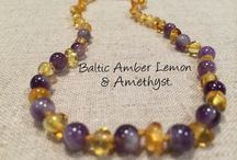 Infant Newborn to 1 year - Baltic Amber Teething Necklaces