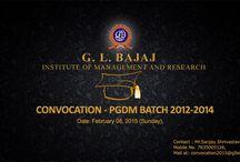 CONVOCATION - (PGDM BATCH 2012-201
