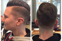 Mens styles / Sharp and clean cut to texture longer styles