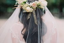Head Pieces / Beautiful head pieces for a wedding