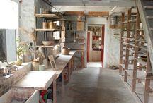 Studio / Pottery studio