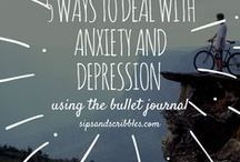 Mental Health Journal / Check out this board for all the inspiration and information you need to start journaling for your mental health. Everything from printables, bullet journal inspiration and journal prompts. I use journaling to manage my depression and anxiety and you can too.