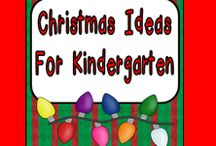 Christmas Ideas for Kindergarten / **Follow this board for lots of fun Christmas ideas to use in your kindergarten classroom**