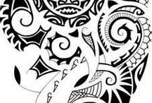 Tatuaggi maori sole