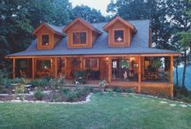 Dream homes  / If I could only win the lottery!