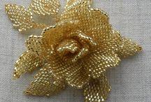 λουλουδια με χαντρες