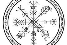 Icelandic magical runes/sigils/galdrastafir/Vegvísir/The Svefnthor/Lukkustafir / Icelandic magical runes sigils galdrastafir vegvísir draumstafir svefnthor Lukkustafir   Little Book Of Magic