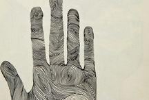Art ideas- hand