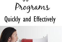 Affiliate programs / Affiliate links, programs, etc.