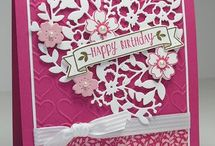 Stamping-Bloomin Love Stamp Set/Bloomin Heart Thinlet