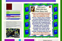 Middle School ELA: Literary Terms and Reading Comprehension Units and Activities / Excellent Curriculum for Middle School ELA students. All Literary Terms or Reading Comprehension Units and Activities!