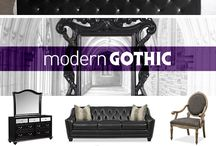 Gothic Inspired Interior Design