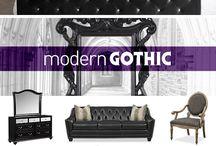 Gothic Inspired Interior Design