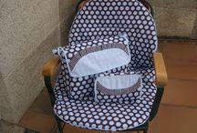 sillas de paseo y bolsos