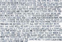 m u s i c- lyrics / by Tracy McGill