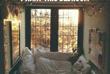 This is a desk / Welcome to my bed desk  / by Marti Pike